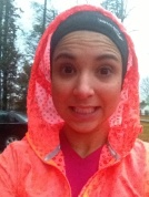 Running in the freezing rain... really?! (Let's do this!)